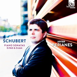 Piano Sonatas, D.960 & D.664 by Schubert ;   Javier Perianes