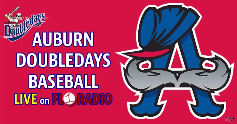 LISTEN LIVE AT 7 PM: Auburn Doubledays open their season at Batavia (FL1 Radio)