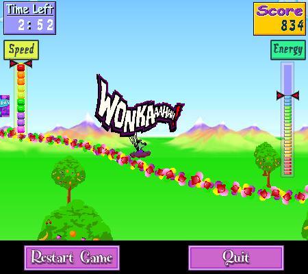 WONKA Wild Coaster Game