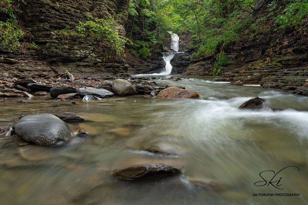 Deckertown Falls in Schuyler County (photo)