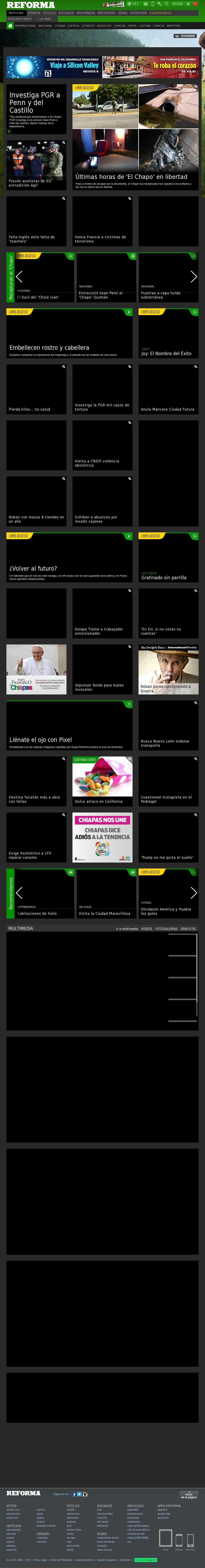 Reforma.com at Sunday Jan. 10, 2016, 5:19 p.m. UTC