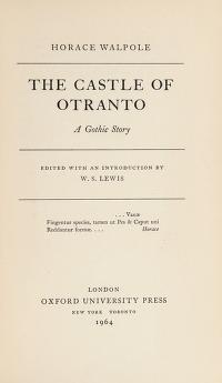 Cover of: The castle of Otranto | Horace Walpole