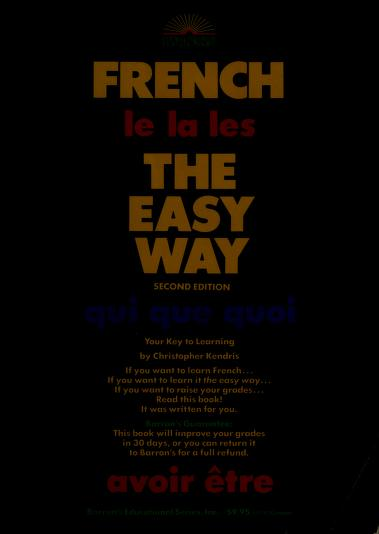 French the easy way by Christopher Kendris
