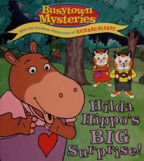 Cover of: Hilda Hippo's big surprise! | Natalie Shaw