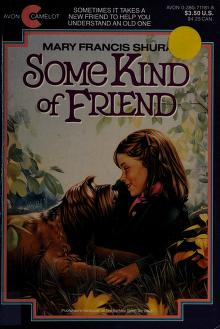 Cover of: Some Kind of Friend | Mary Francis Shura