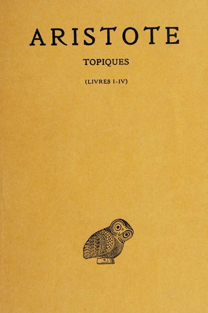 Topiques by Aristotle